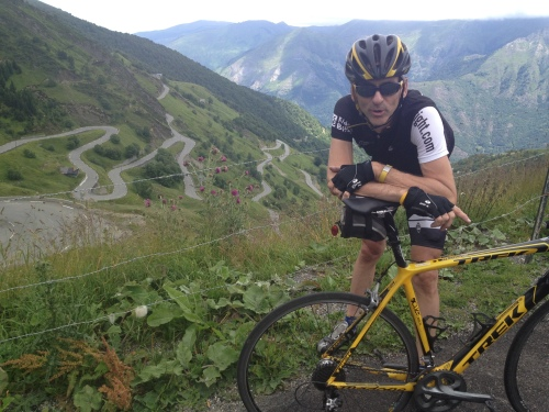 Top of Luz Ardiden in the Pyrenees. Best 20 mins normalized power the day after completing Stage 15 of Tour de France.