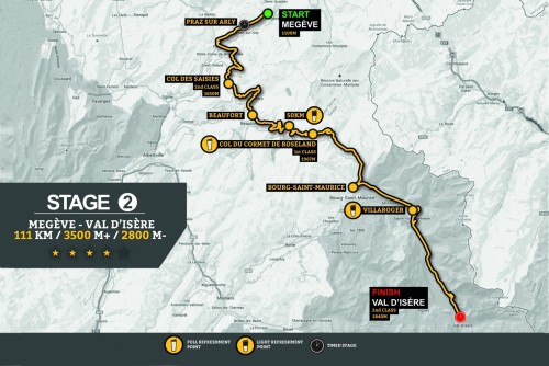 Stage 2 Route