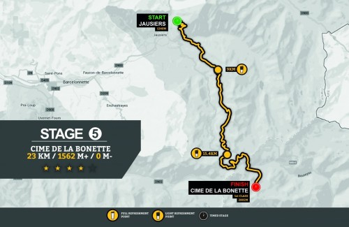 Stage 5 Map