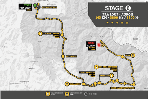 Stage 6 Map